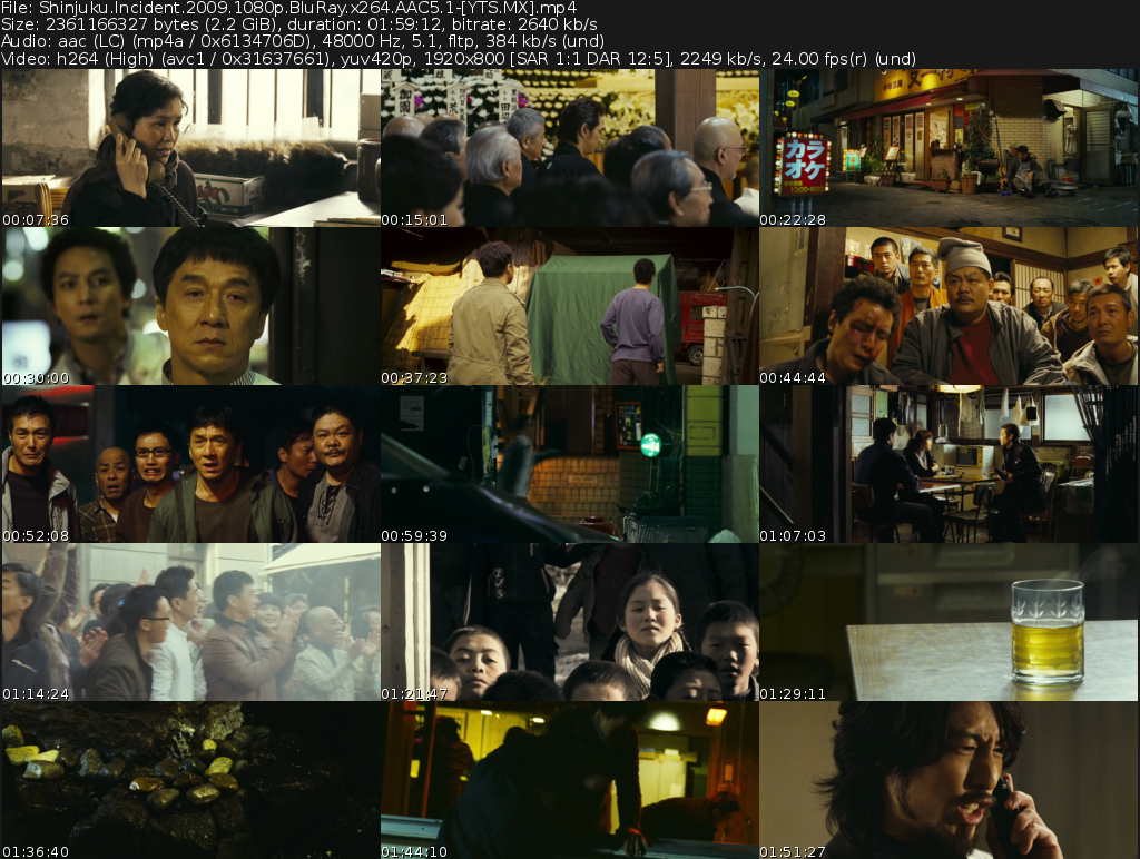 新宿事件 Movie
