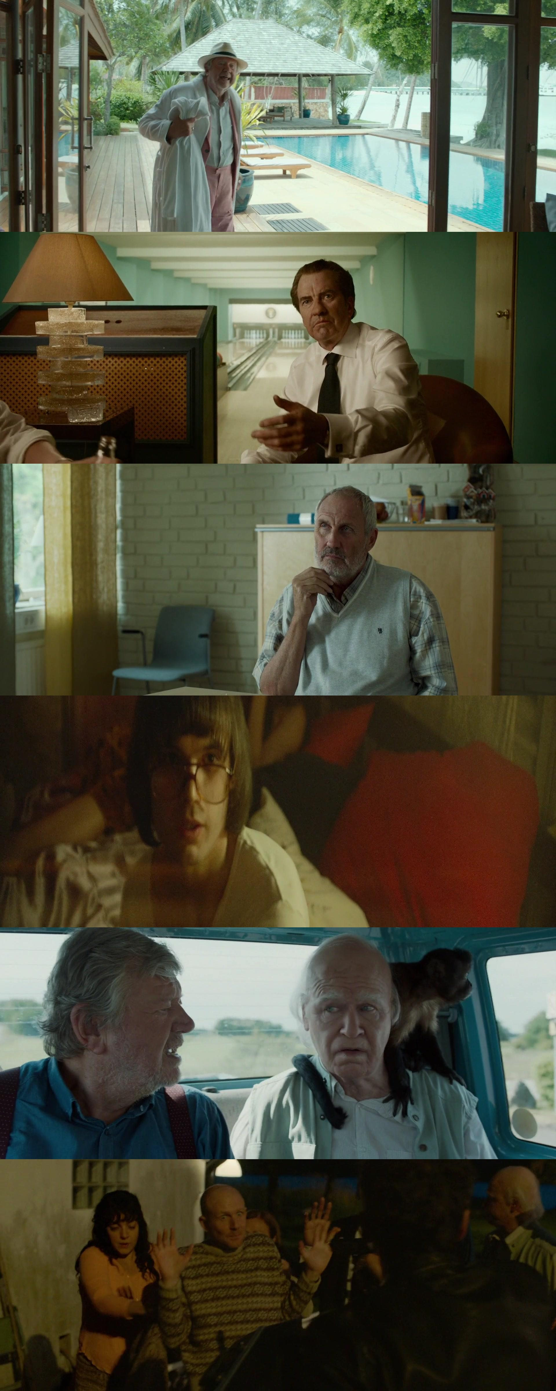 The 101-Year-Old Man Who Skipped Out On The Bill  Disappeared (2016) 1080p Bl