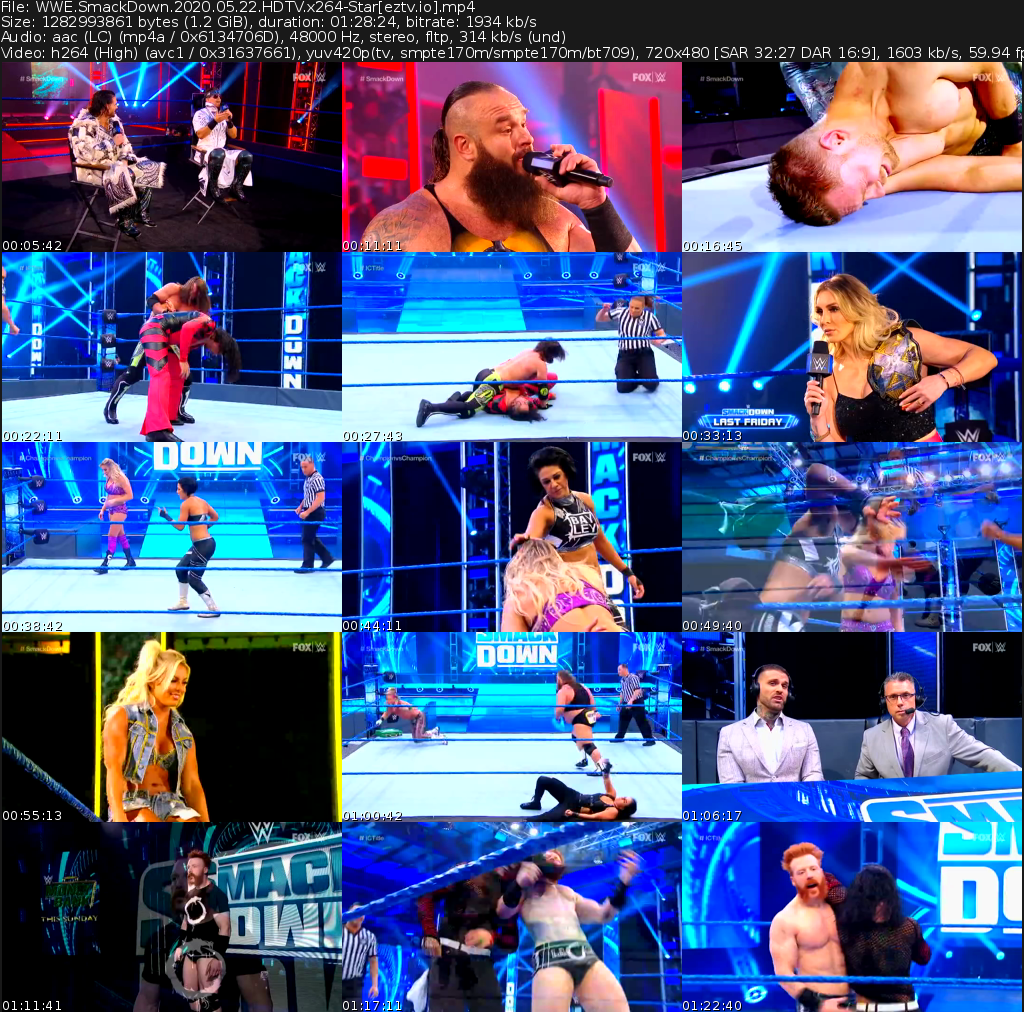 WWE Friday Night SmackDown Movie